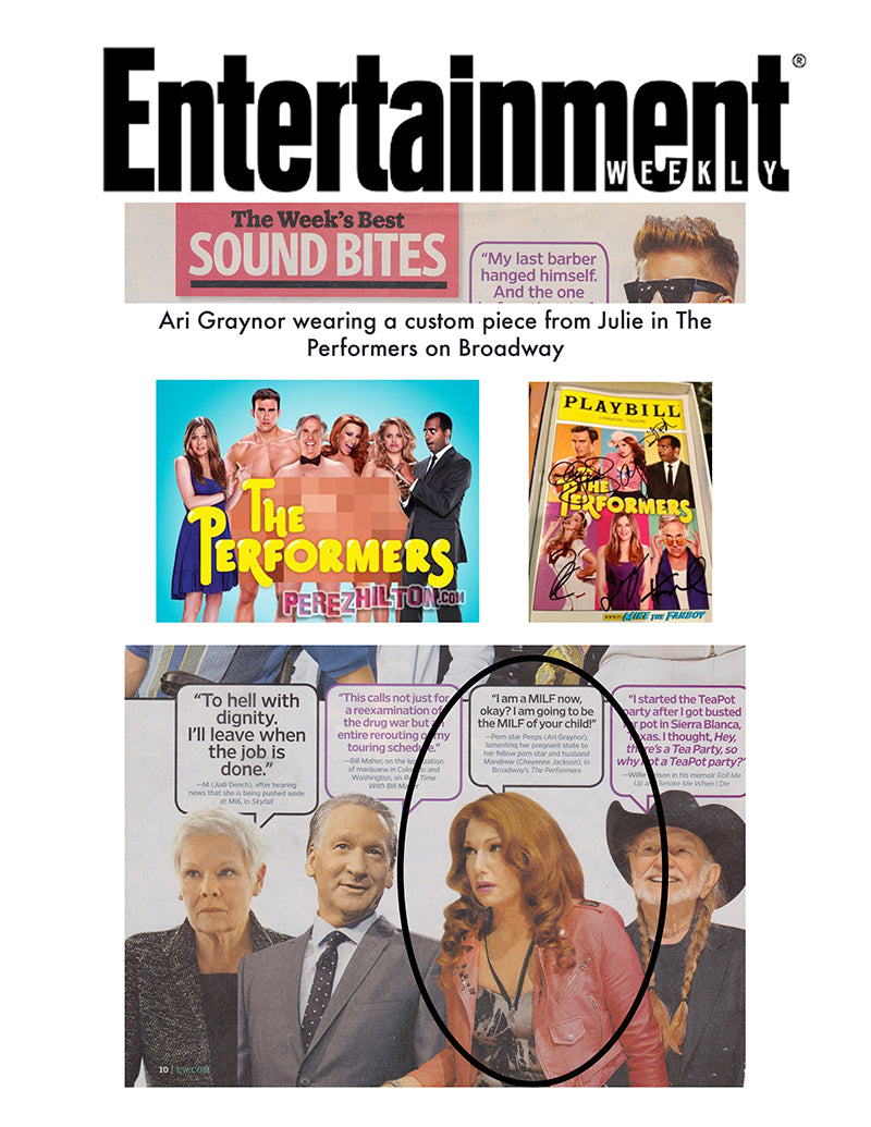 Julie mollo feature in entertainment weekly