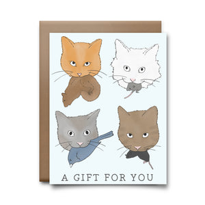 a gift for you | greeting card