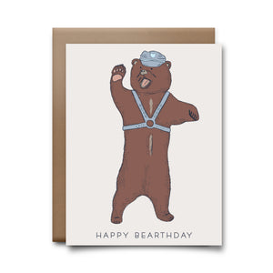 happy bearthday  | greeting card