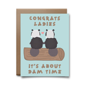 beavers  | greeting card