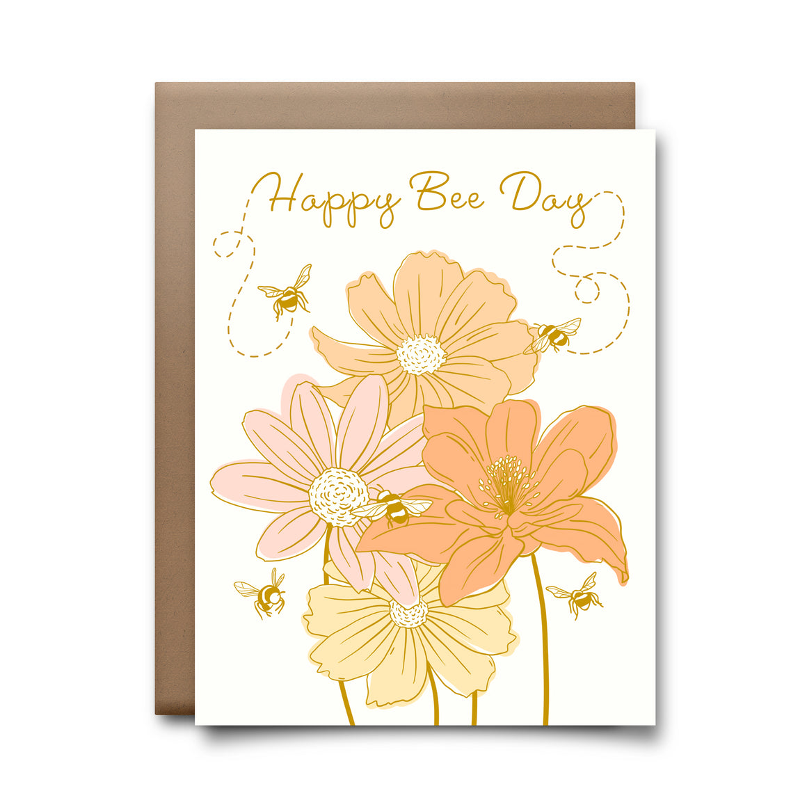 bee day | greeting card