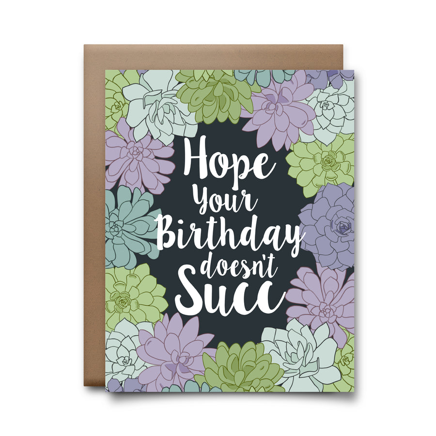birthday succ | greeting card