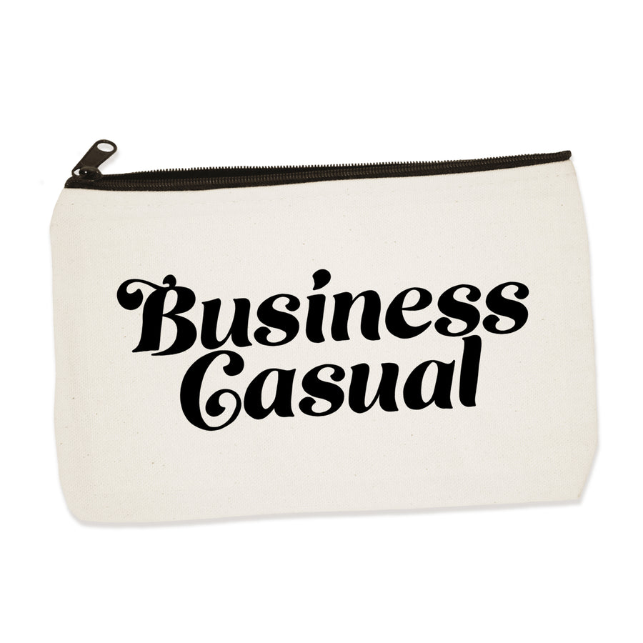 business casual  | zip pouch