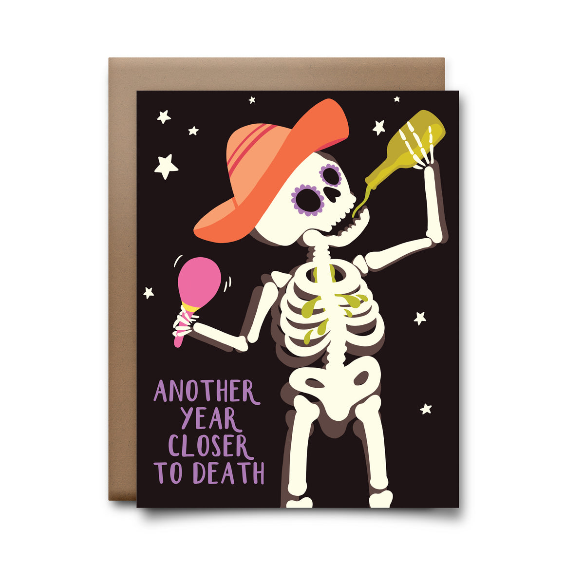closer to death | greeting card