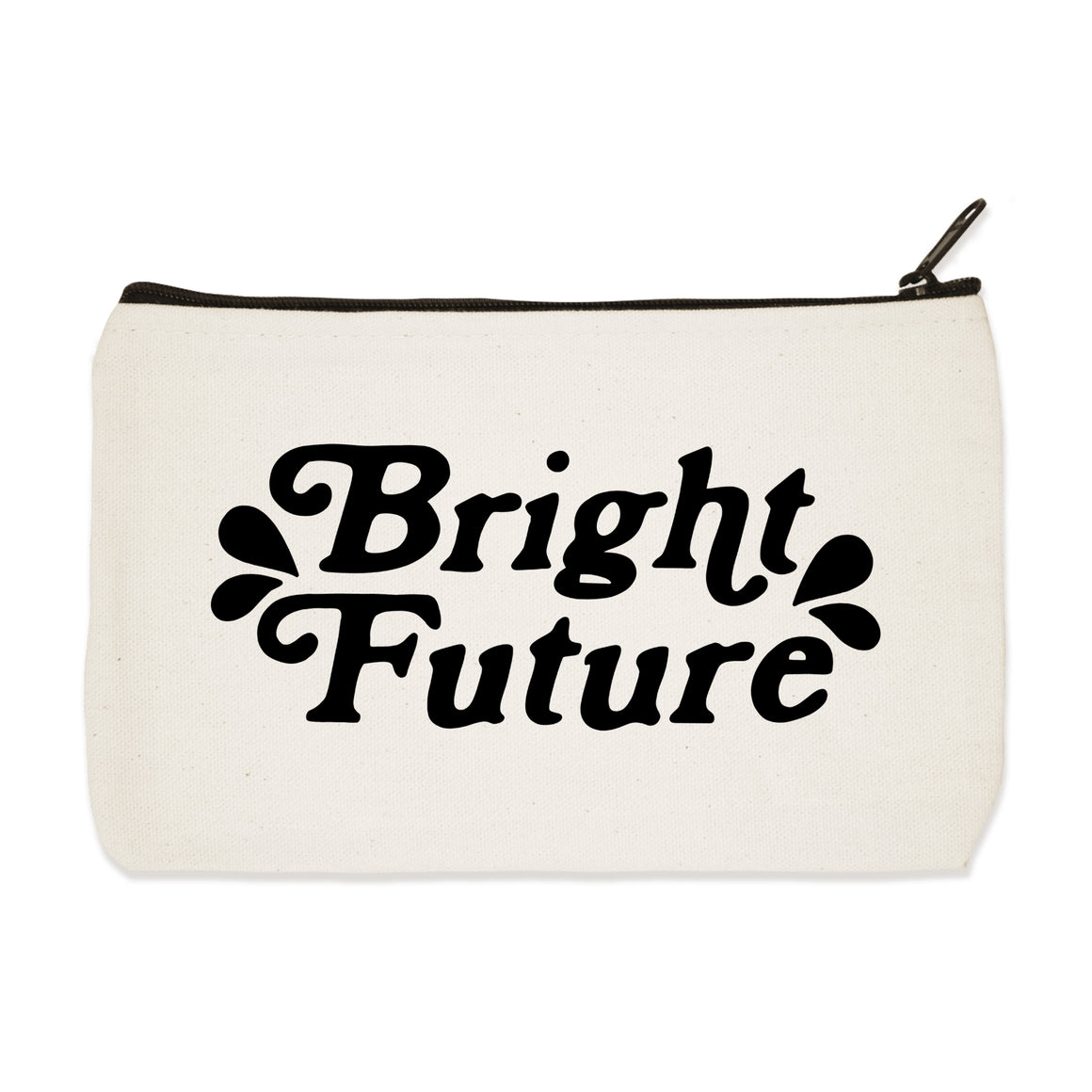 bright future | zip pouch