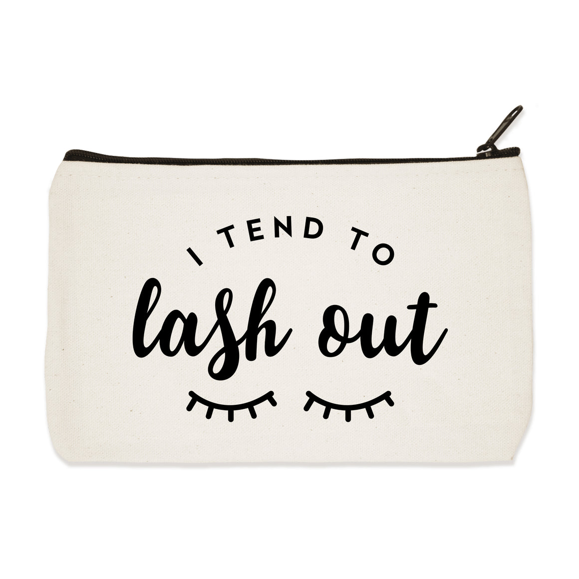 lash out | zip pouch