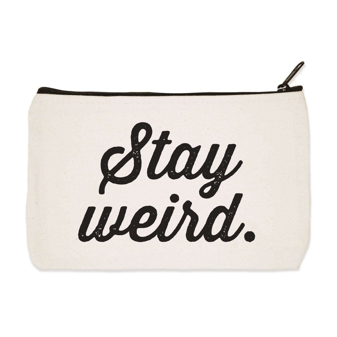 stay weird | zip pouch