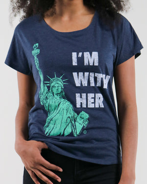 i'm with her | dolman