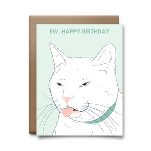 ew happy birthday | greeting card