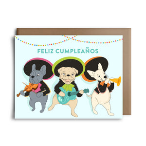 feliz cumpleanos | greeting card