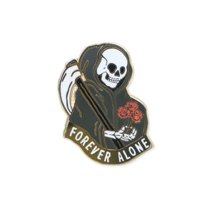forever alone | enamel pin