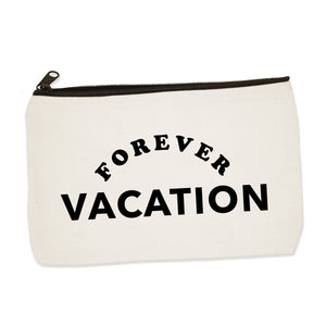 forever vacation  | zip pouch