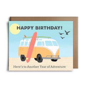 hbd adventure | greeting card