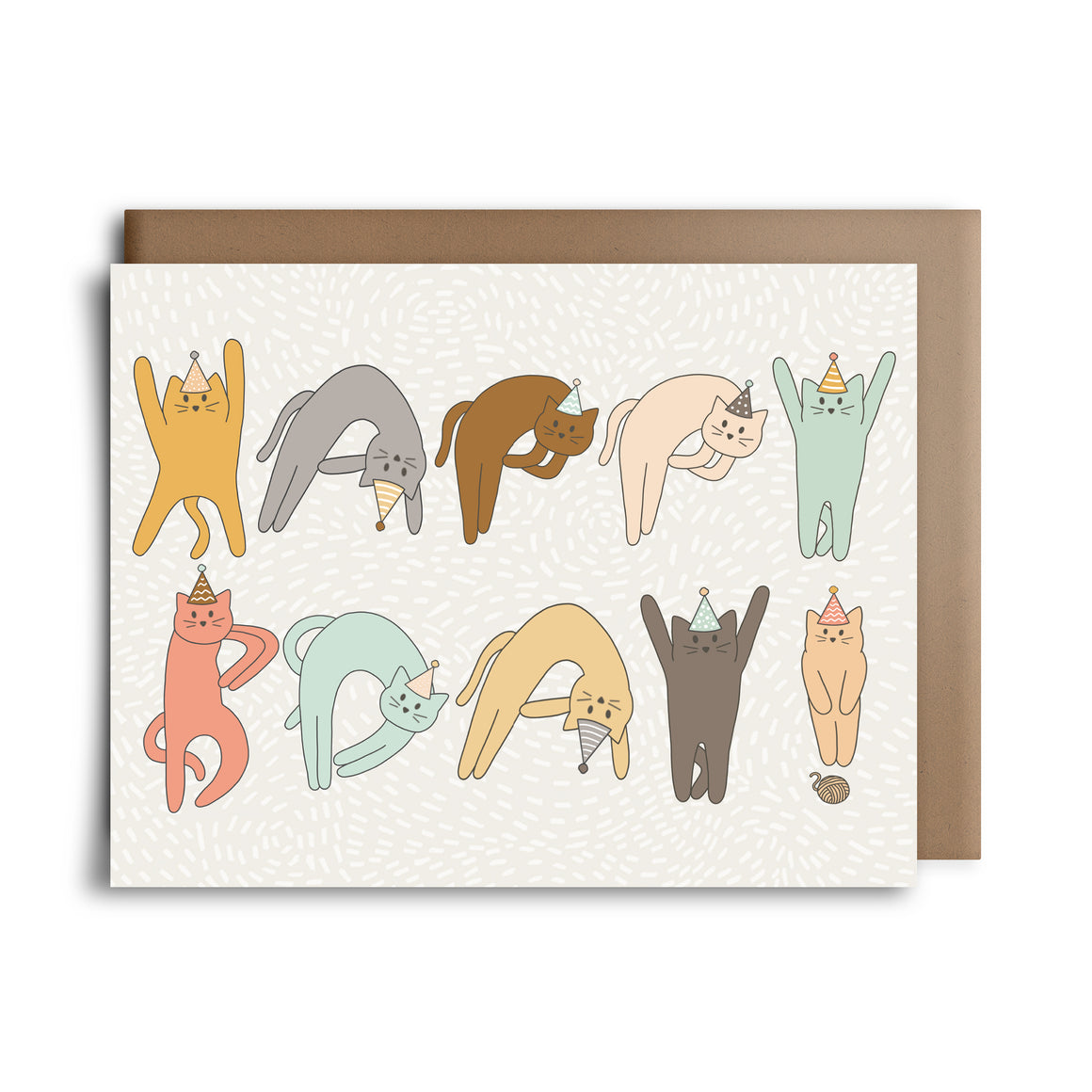 hbd cats | greeting card