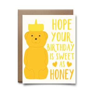honey | greeting card