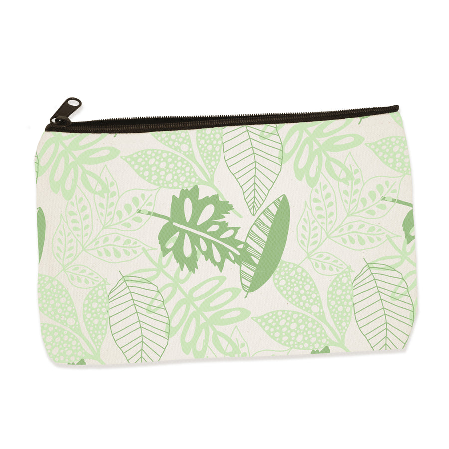 leaves | zip pouch