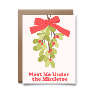 mistletoe | greeting card