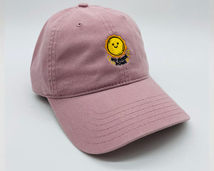 no shade zone | dusty pink | dad hat