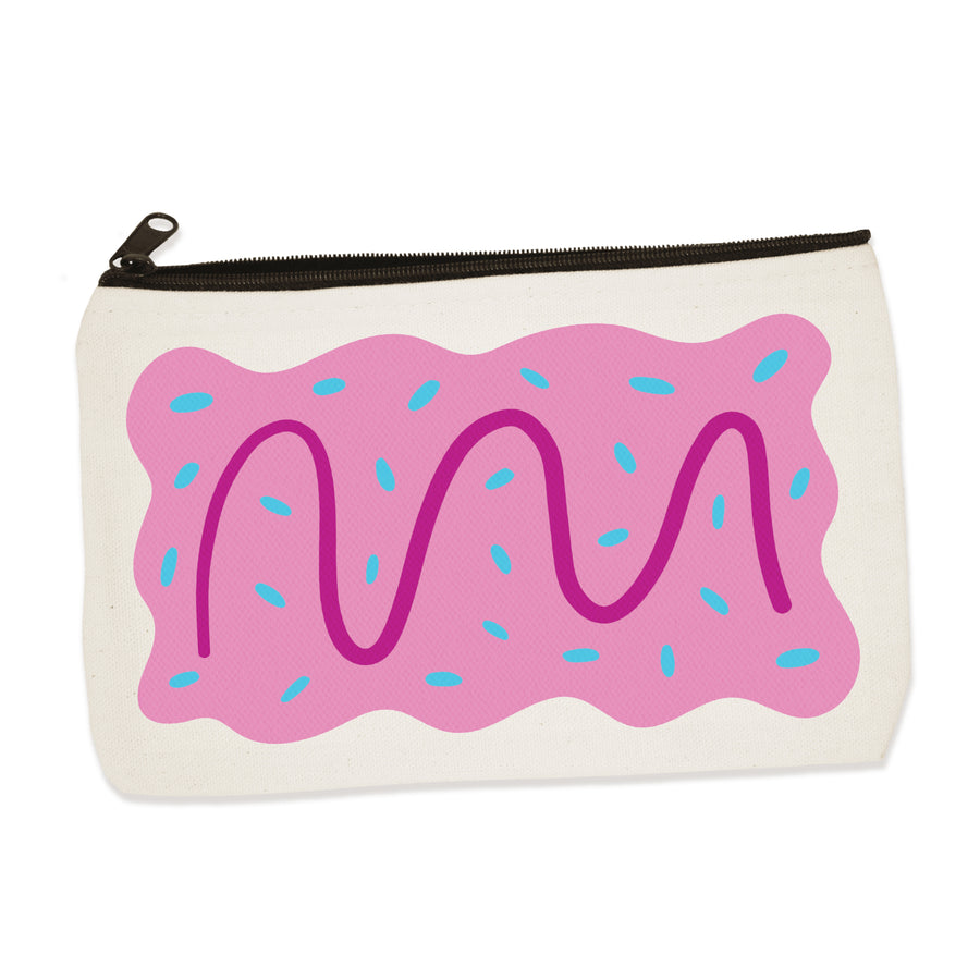 pop tart | zip pouch