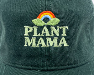 plant mama | dark green | dad hat