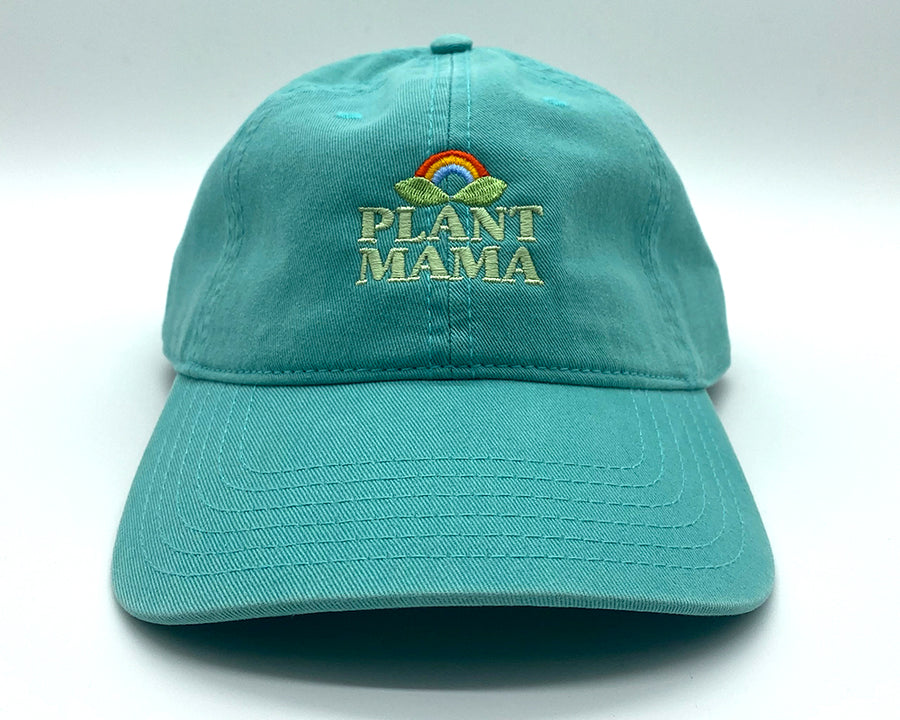 plant mama | teal | dad hat