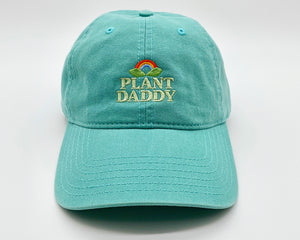 plant daddy | teal | dad hat