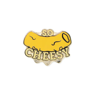so cheesy | enamel pin