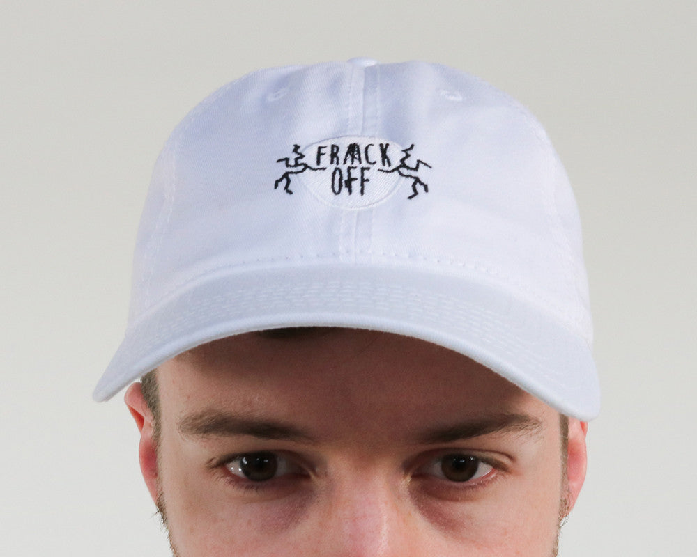 frack off | dad hat