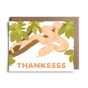 thankssss | greeting card