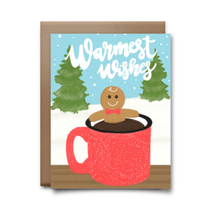 warmest wishes | greeting card