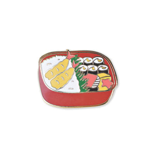 bento box | enamel pin