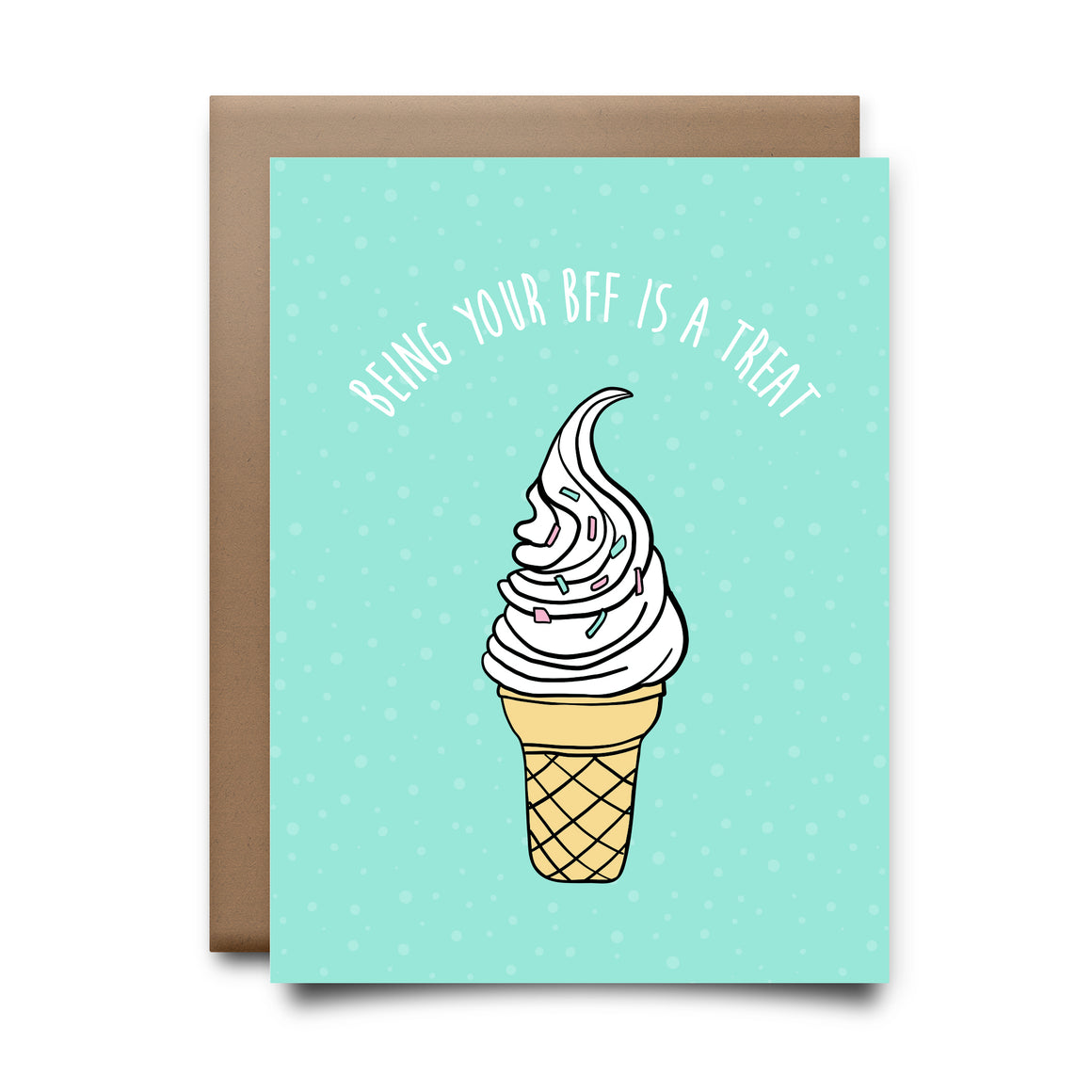 bff treat | greeting card