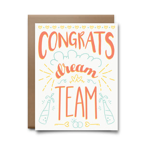 dream team | greeting card