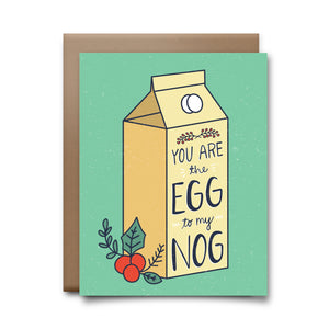 eggnog | greeting card