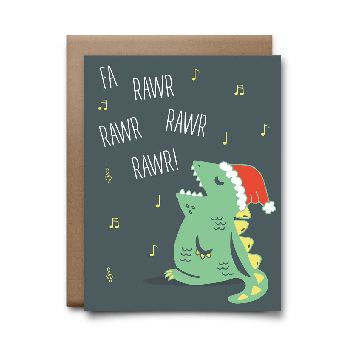 fa rawr rawr | greeting card