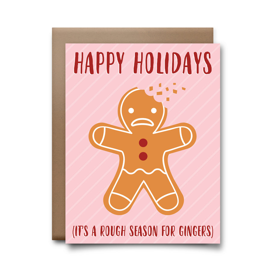 gingerbread | greeting card