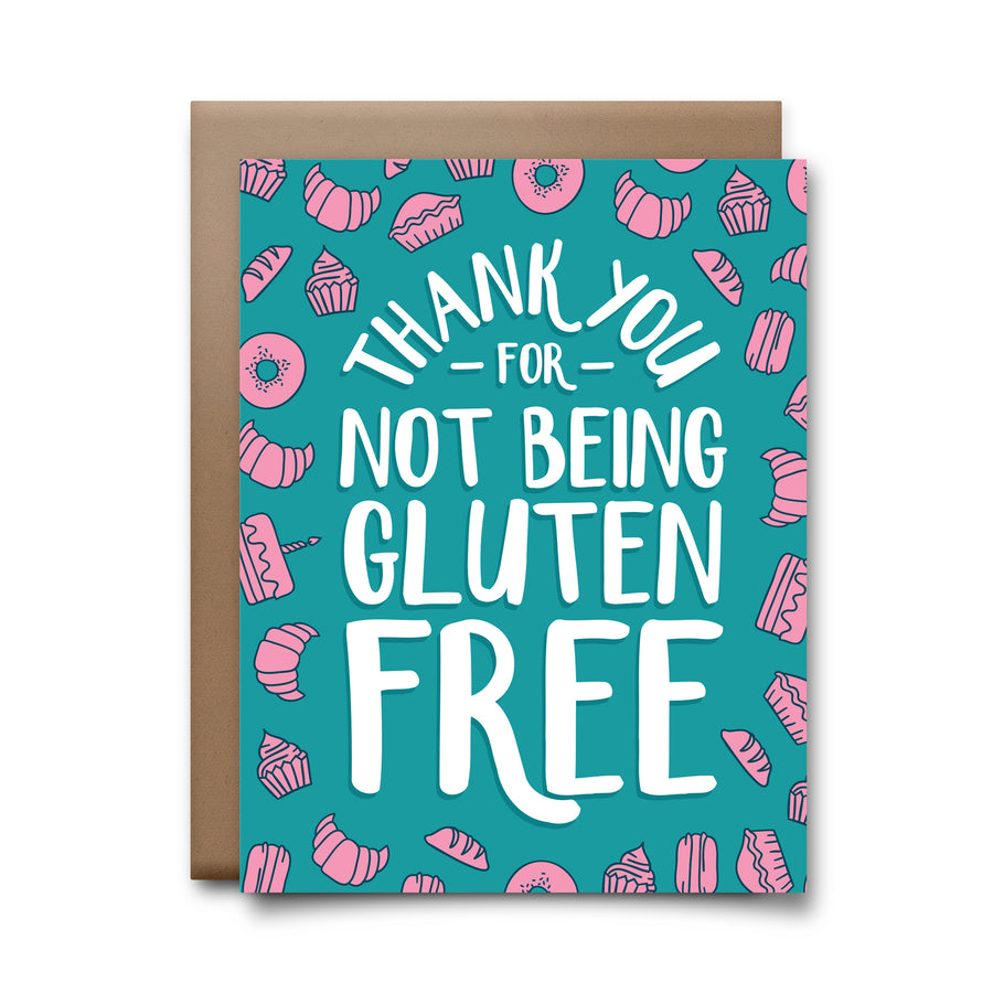 gluten free | greeting card