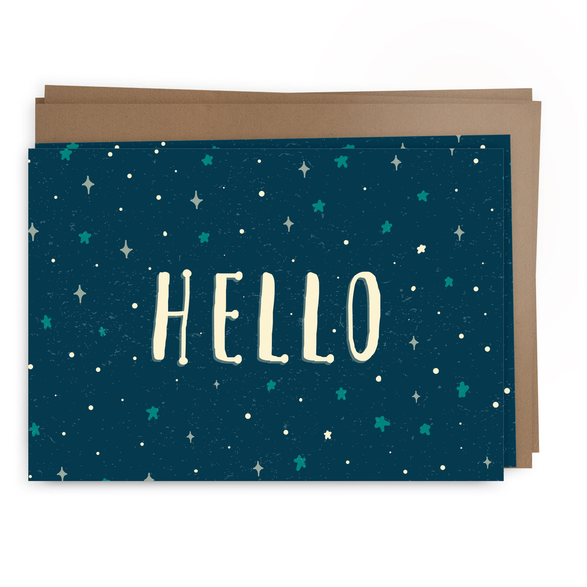hello stars pack | greeting card