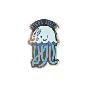 jelly  | enamel pin
