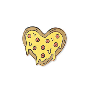 pizza heart | enamel pin