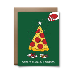 pizza tree | greeting card