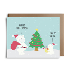 polar bear | greeting card