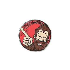 sassquatch | enamel pin