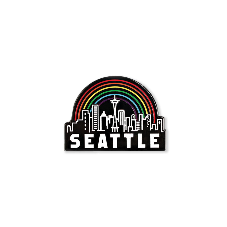 seattle skyline | enamel pin