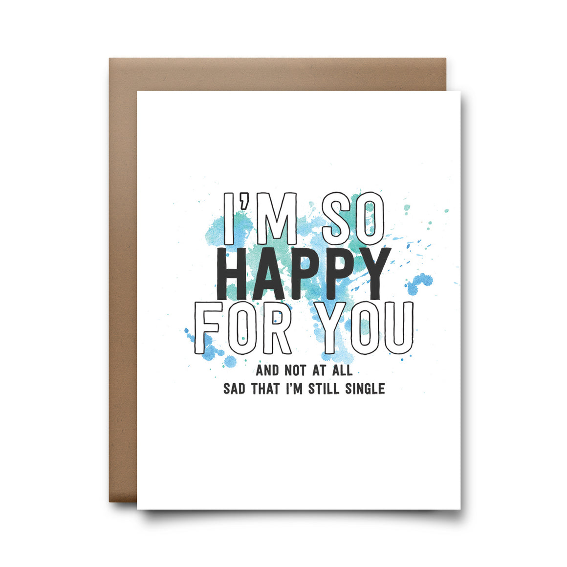 i'm still single | greeting card