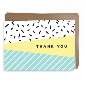thanks sprinkles | greeting card