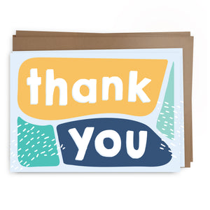 thanks blocks pack | greeting card