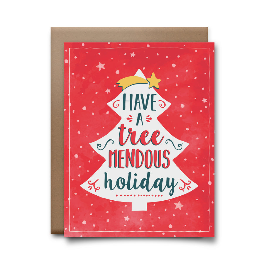 treemendous | greeting card