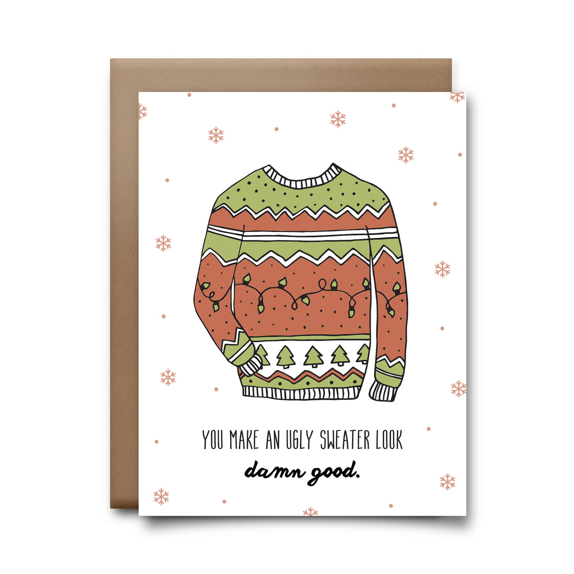 ugly sweater | greeting card
