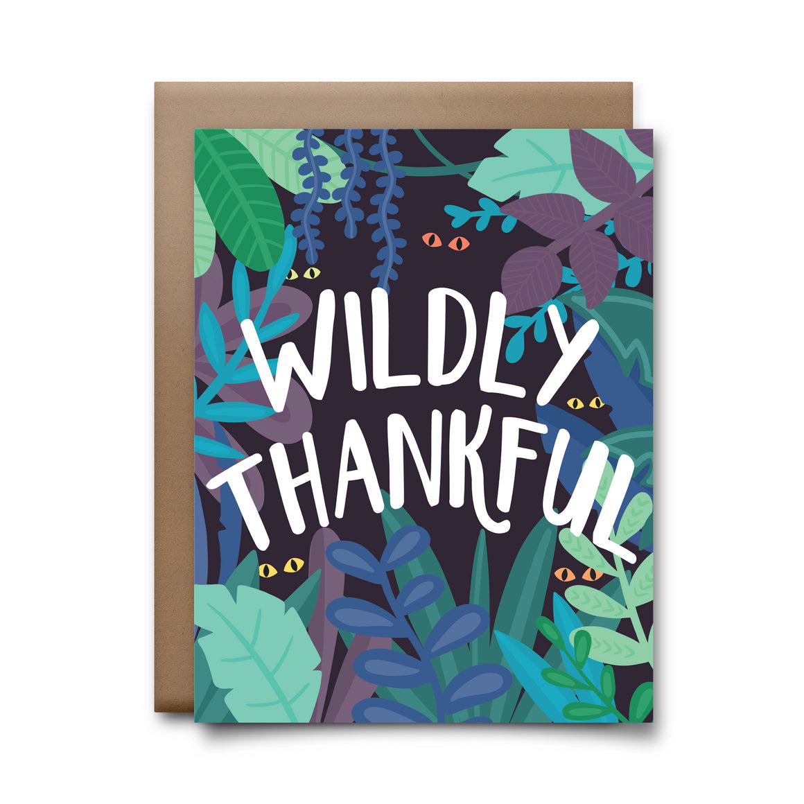 wildly thankful | greeting card
